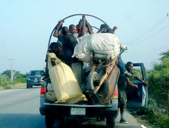 Transport en commun en Haïti- © Osman Jérôme