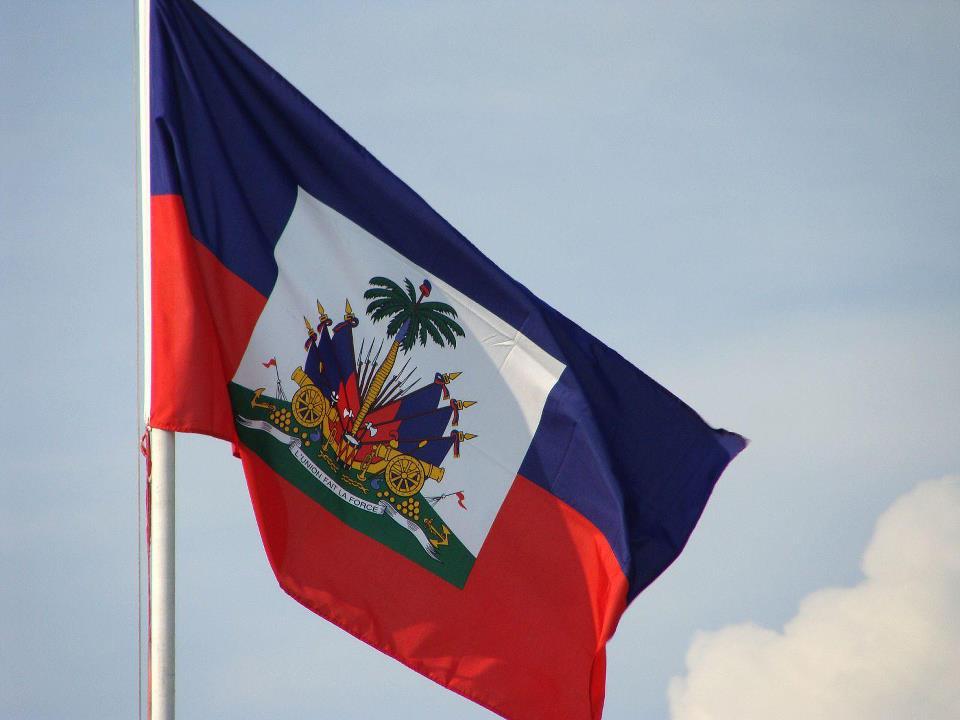 Drapeau haitien