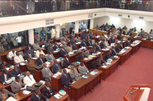 Article : Qu'est-ce qu'un parlementaire en Haïti ?