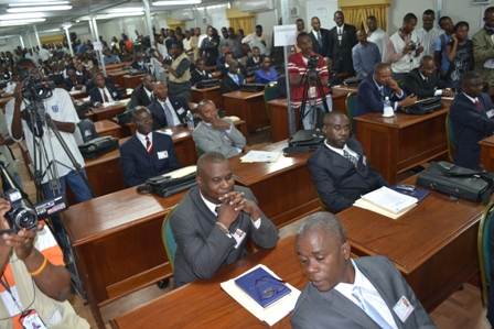 Parlement haïtien-crédit : haitipressnetwork