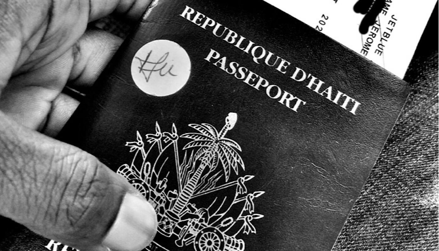 Passeport haïtien (C) Osman
