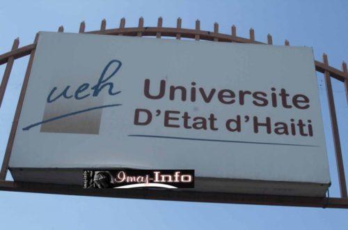 Article : Le prix d'une place à l'Université d'Etat d'Haïti (UEH)