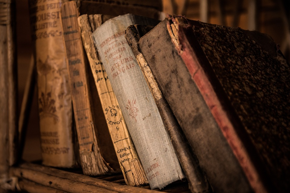 Old Books : pixabay.com