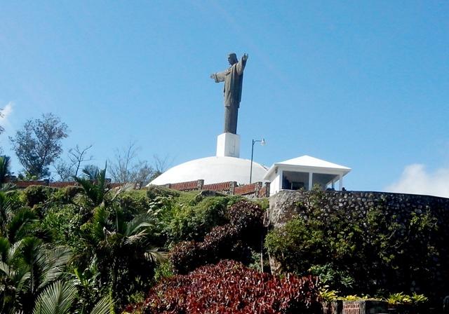 Le christ rédempteur de Puerto Plata-Crédit photo : Osman Jérôme