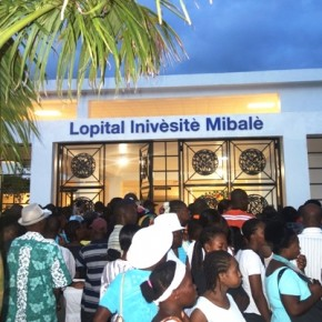 Hôpital Universitaire de Mirebalais-© Osman Jérôme