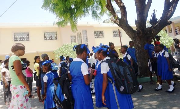 Rentrée scolaire en Haïti-Crédit photo : Osman Jérôme