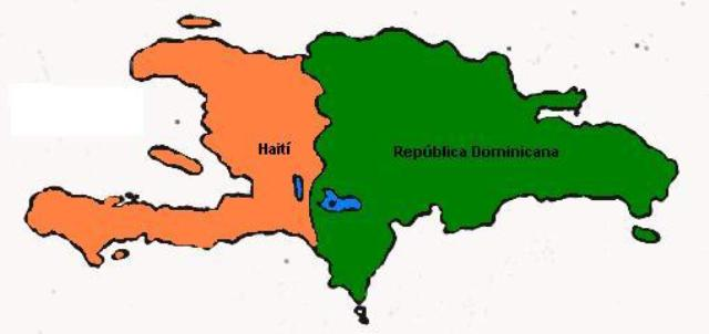 Haïti et République dominicaine-©: http://upload.wikimedia.org/wikipedia/commons/6/6e/La_espanola.JPG