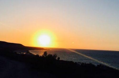 Article : L'autre coucher du soleil