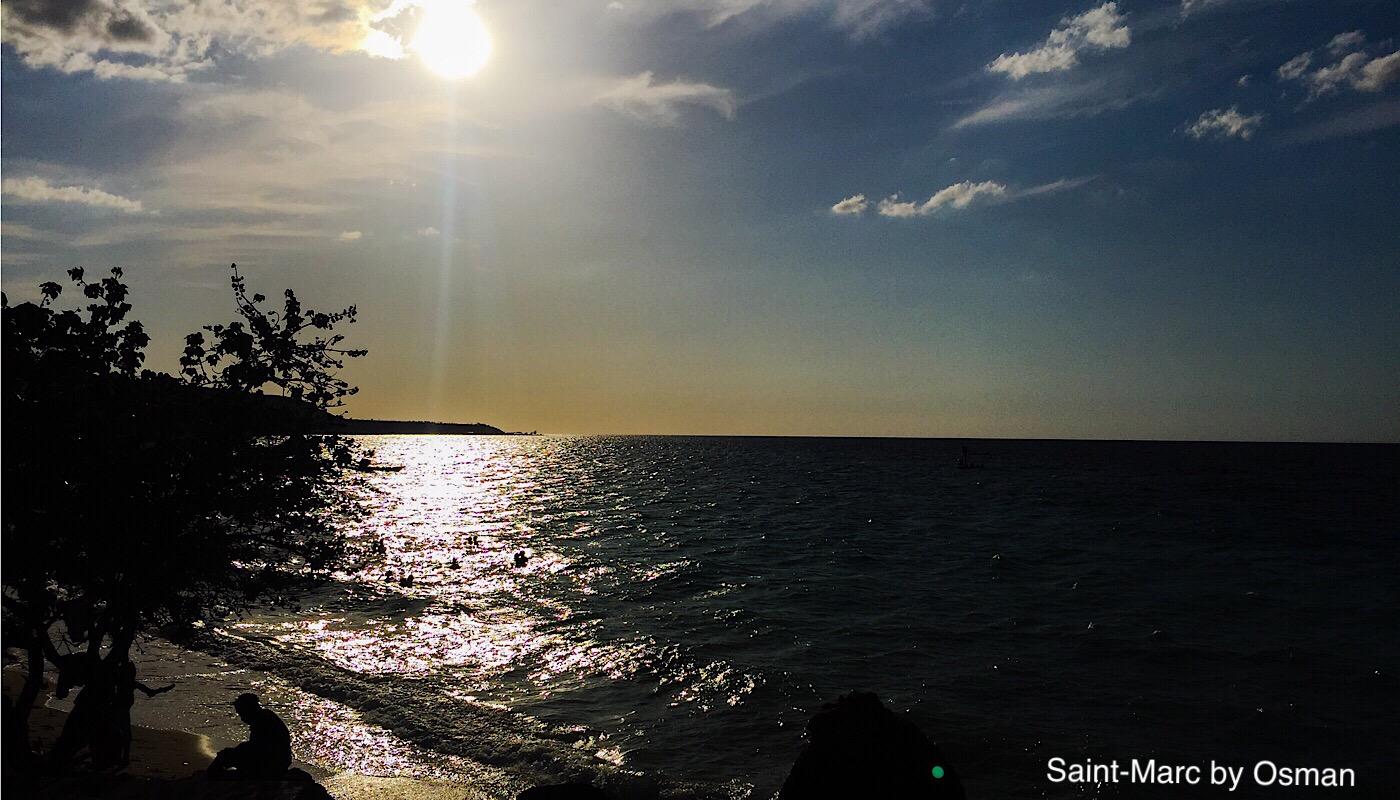 Coucher du soleil à Saint-Marc, Haïti (C) Osman