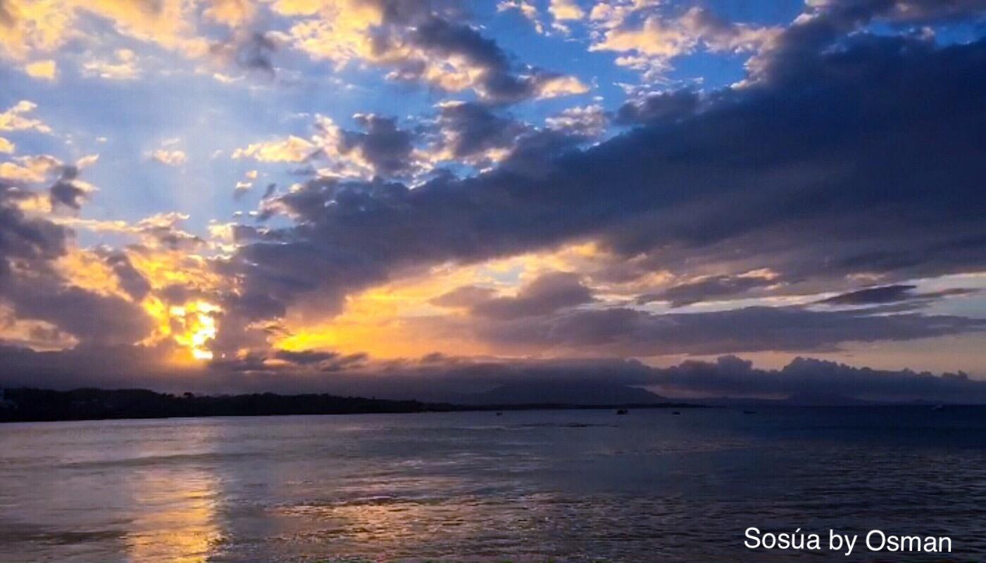 Coucher du soleil à Puerto Plata, République dominicaine (C) Osman