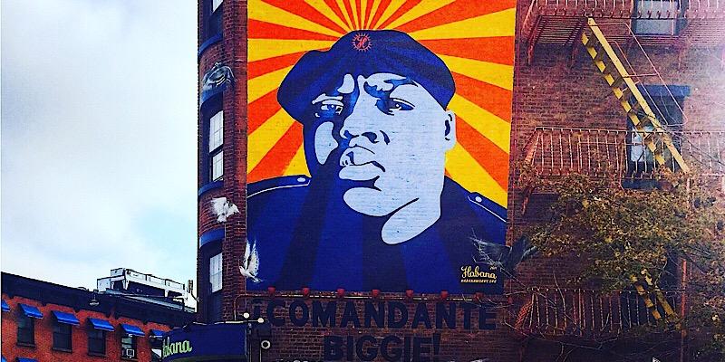 Fresque de Biggie (C) Osman
