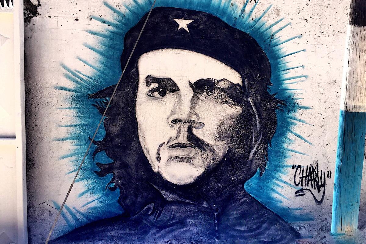Fresque de Che Guevara (C) Osman