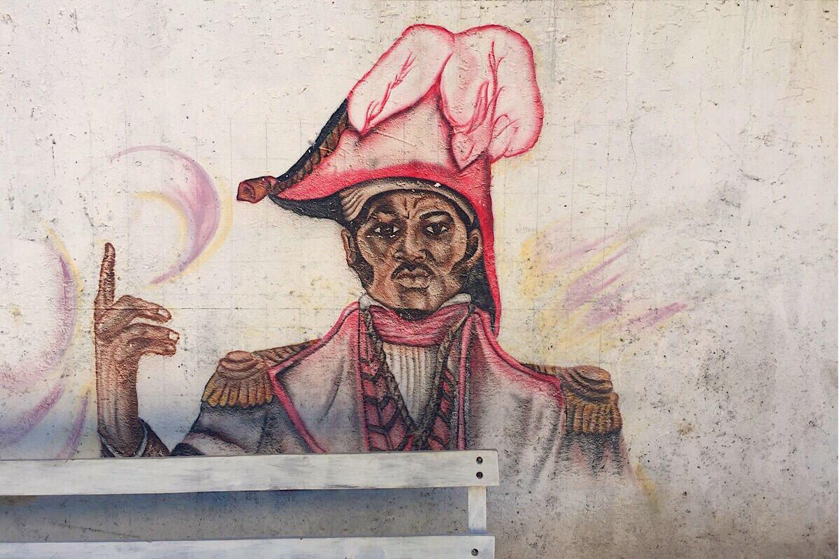 Fresque de Jean Jacque Dessalines (C) Osman