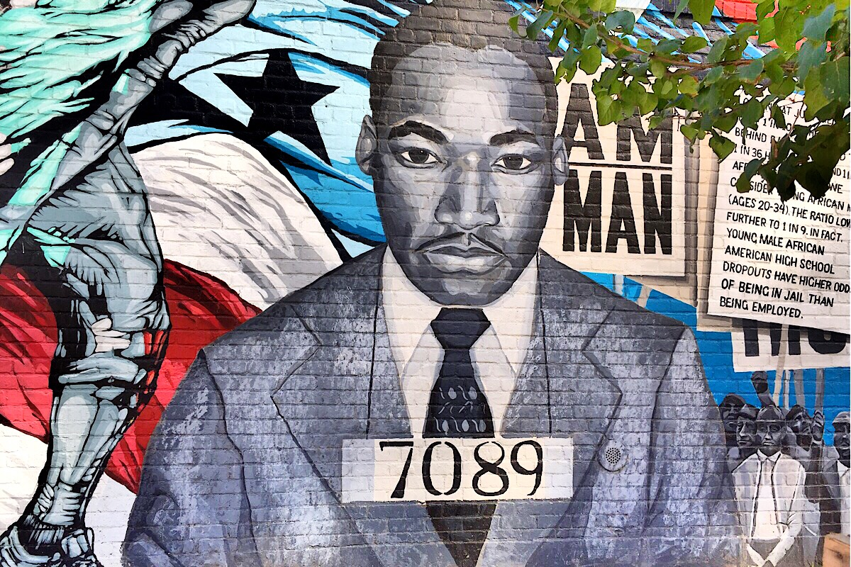 Fresque de Martin Luther King (C) Osman