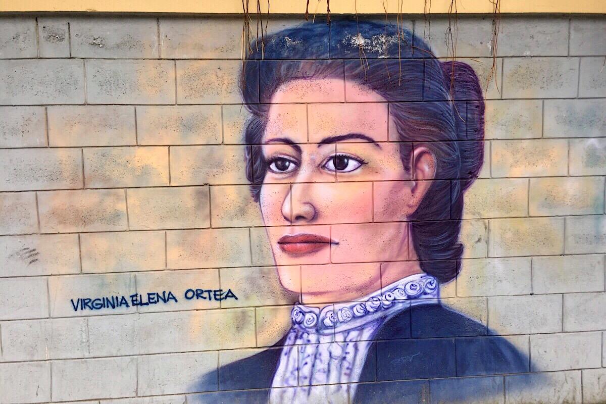 Fresque de Virginia Ortea (C) Osman