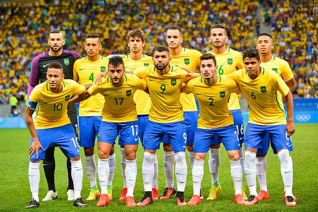CC: Brazil_men's_football_team_2016_Olympics