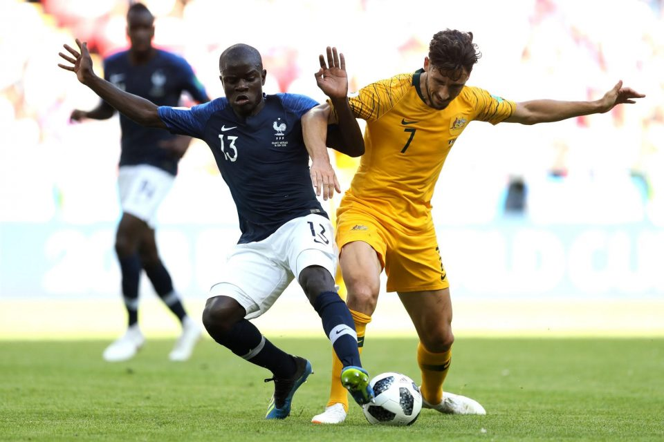 Coupe du monde 2018, France-Australie/Crédit : Twitter de l'Equipe de Franc football