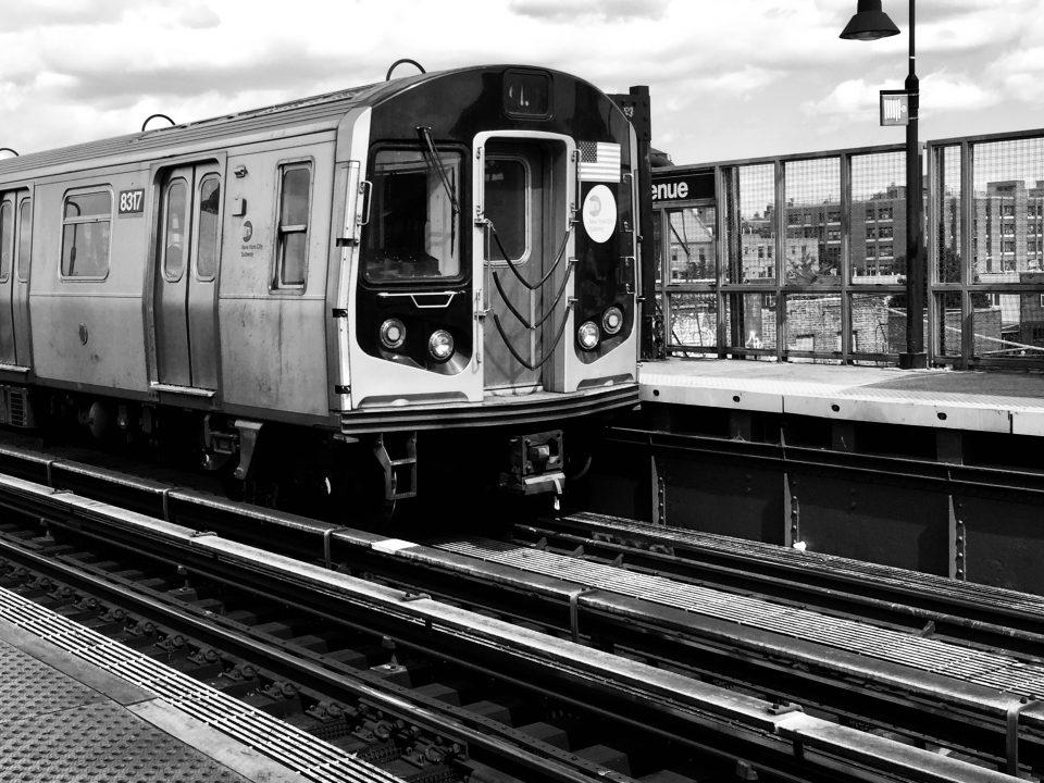 Dans les métros à New-York