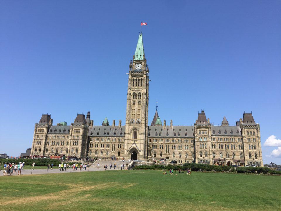 La colline du Parlement © Osman Jérôme