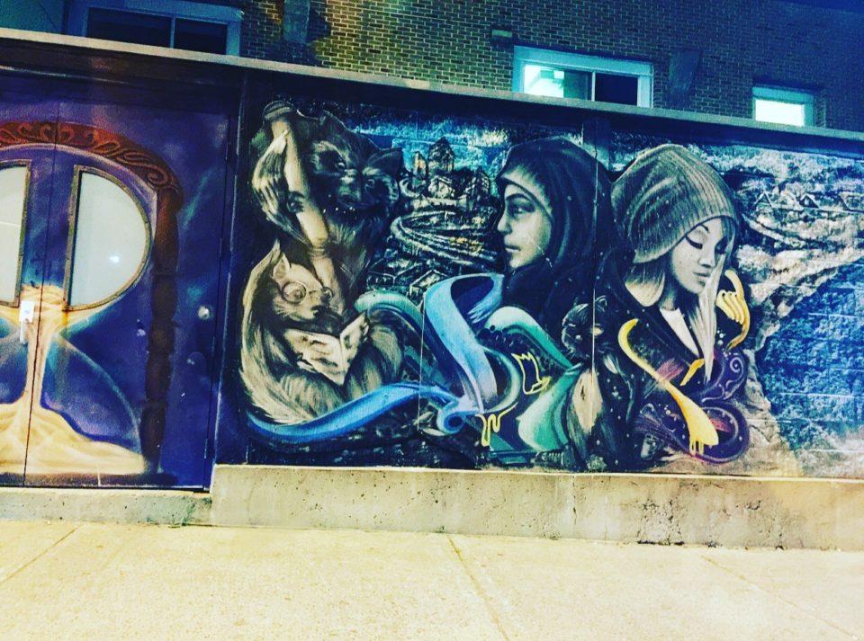 Street art à Ottawa © Osman Jérôme